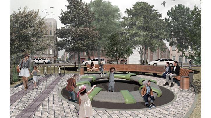 В 2019 году в Петербурге благоустроят сквер на Мытнинской улице