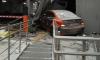 """Каршеринговая машина с нетрезвой девушкой """"припарковалась"""" в стену у """"Газпром арены"""""""