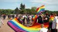 На участников ЛГБТ-акции на Марсовом поле совершили ...