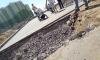В Новом Мурино облагородили незаконную дорогу, которая должна быть демонтирована