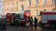 Из-за пожара на Кондратьевском проспекте перекрывали ...