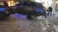 Взорвавшаяся шина на Маршала Жукова разбила окна квартир...
