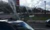 Сильный ветер повалил светофор на пересечении Есенина и Северного проспекта