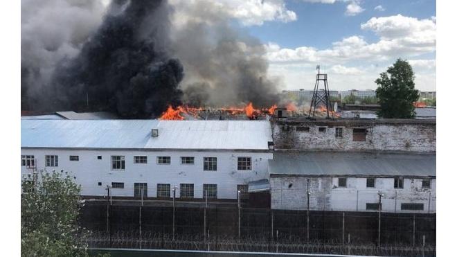 В Томске горела туберкулезная больница на территории колонии