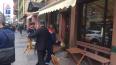 Смольный снес незаконные летние кафе и веранды