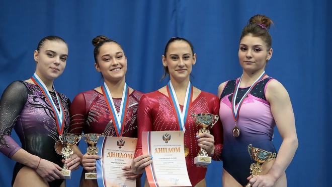 Петербургские гимнастки стали победительницами чемпионата России