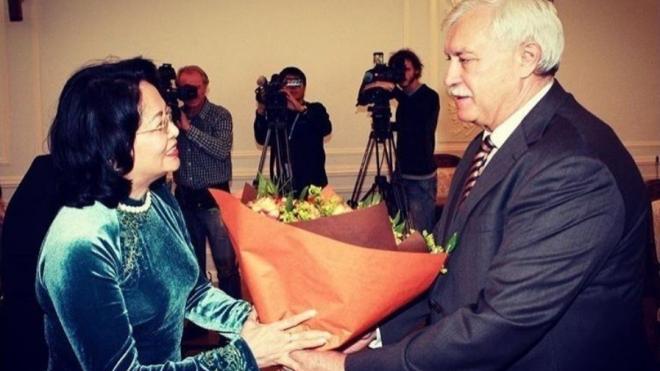 Петербург и Вьетнам готовы сотрудничать