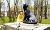 Памятник Маугли в Приозерске обновили с помощью краски