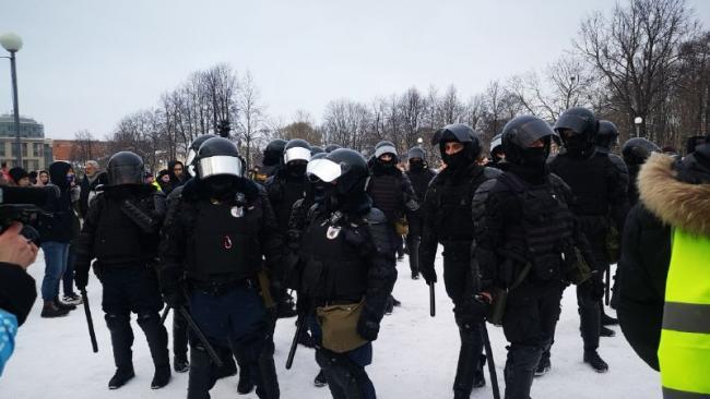 Смольный не финансировал перекрытие дорог на митингах в поддержку Навального