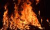 В Синявино сгорел дачный дом