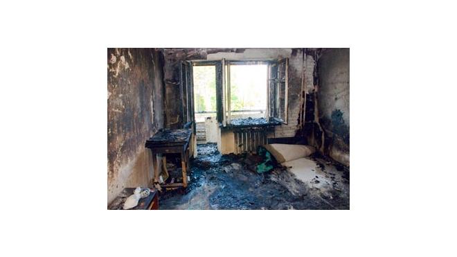 В Петербурге во время пожаров погибли люди