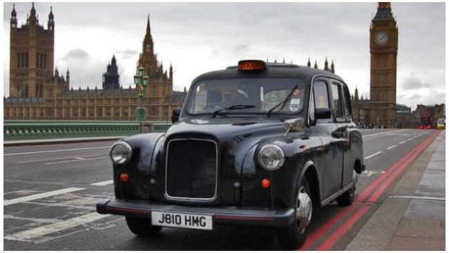 Рекламу Санкт-Петербурга  провезут по Лондону на такси