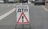 На Петергофском шоссе BMW «обнял» столб
