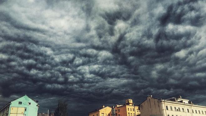 Всю среду выборжан ожидают кратковременные дожди и грозы, также возможен град