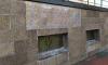 """Театр """"Буфф"""" в Петербурге заделали фотобумагой с каменным принтом"""
