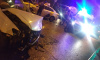"В ДТП на Кантемировской столкнулись Mercedes и ""Яндекс.Такси"""