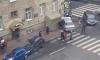 На 7-й Красноармейской две иномарки вылетели на тротуар и раздавили пешехода