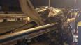 Уснувший за рулем водитель влетел в отбойник на Выборгском ...