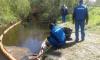 Власти Петербурга проверили работу аварийной бригады после разлива нефти в реке Черной
