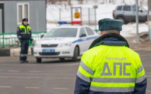 Пьяного водителя в Петербурге остановила стрельба полицейских