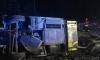 В перевернувшемся в Эстонии автобусе пострадали девять человек