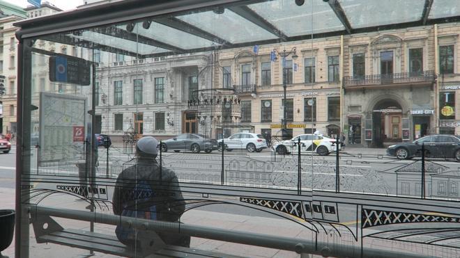 В Петербурге установят 170 остановочных павильонов