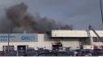 Пожар в автоцентре на Савушкина: видео, подробности