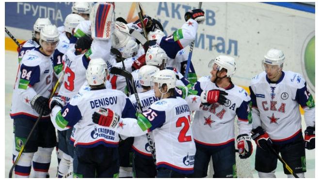 СКА выиграл у минского Динамо со счетом 3:2