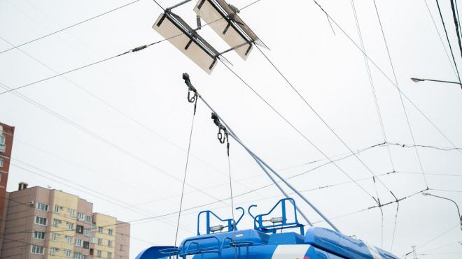 В Петербурге временно изменит маршрут троллейбус №37