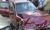 Александр Емельяненко на машине снес столб в Тамбове