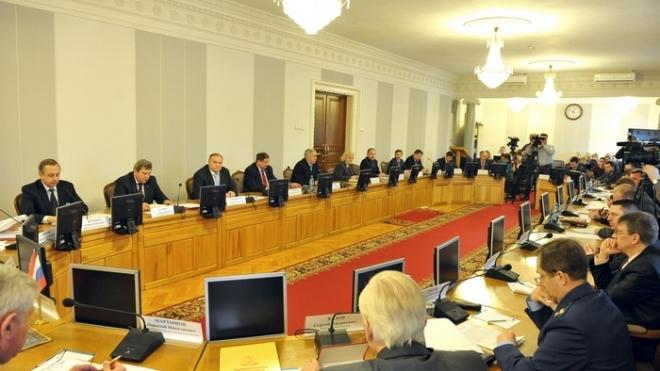 Заседание коллегии администрации