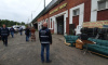 Сотрудники Смольного выгнали нелегальных арендаторов из-под Кушелевского путепровода