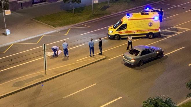 На проспекте Стачек произошло ДТП: есть погибшие
