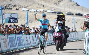 Велогонщик из Выборга одержал победу в состязании на горе Мон Ванту