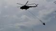 Ми-8 локализовали 15 га лесных пожаров в Ленобласти