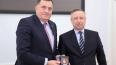 Беглов вручил Милораду Додику награду за заслуги перед П...