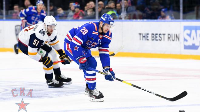 СКА обыграл уральских гостей в матче КХЛ