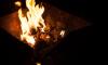 В Петербурге строитель поджег себя, разводя огонь в мангале