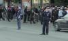 На канале Грибоедова водитель прокатил полицейского на капоте