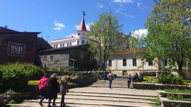 В Выборге завершился первый этап ремонтных работ на объектах культурного наследия