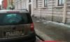 На Камской улице упавшая наледь повредила автомобиль