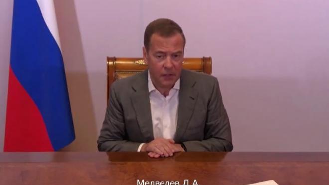 """Медведев констатировал """"холодную гражданскую войну"""" в США"""
