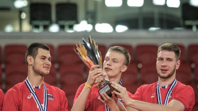 Уроженец Соснового Бора выиграл молодежный чемпионат Европы по волейболу