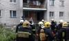 Семь погорельцев обратились в больницу после пожара на Маршала Блюхера
