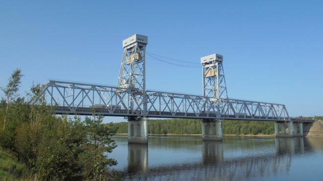 Моста через реку Свирь в Ленобласти разведут 8 октября