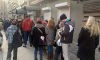 Петербуржцы выстраиваются в очереди к пунктам обмена валют