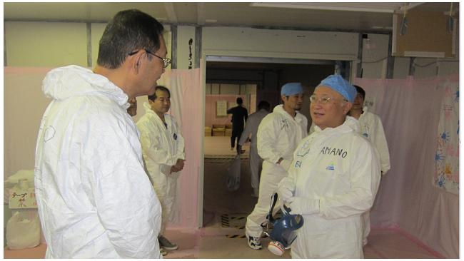 """Новое землетрясение в Японии не затронуло """"Фукусиму-1"""""""