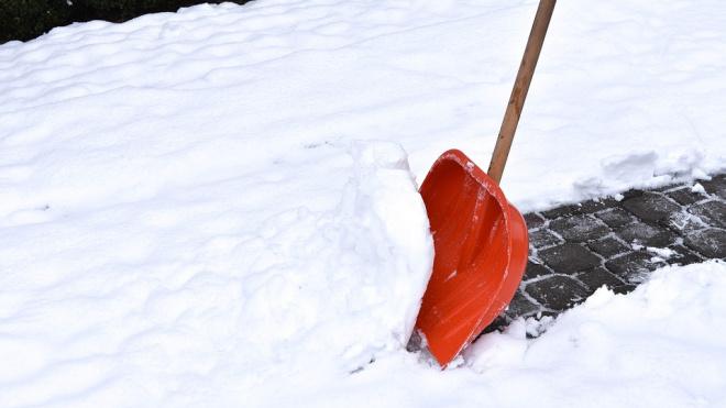 Петербуржцы смогут нанять человека, который будет чистить перед ними дорожки
