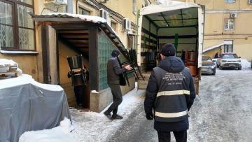 Из дома-памятника на улице Зодчего Росси выселили ресторан