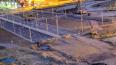 В бетонный блок на Комендантском проспекте врезался ...